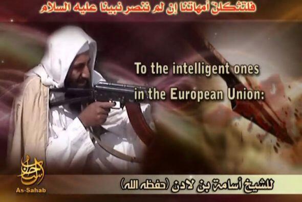 El líder del grupo terrorista Al Qaeda, Osama bin Laden, pidió hoy en un...