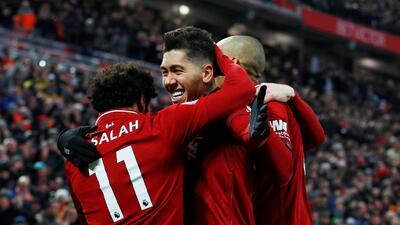 En fotos: de la mano de Salah y Mané, el Liverpool superó en un duro partido al Crystal Palace por 4-3