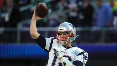 En fotos: Así fue el calentamiento de los jugadores de Patriots y Eagles previo al Super Bowl  LII