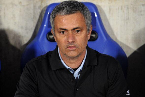 Sin embargo, José Mourinho, entrenador de los madridistas, no se veía na...