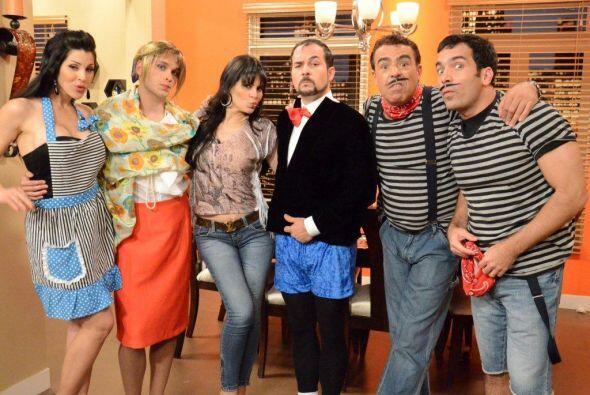 La invitada de la noche, fue María Raquenel, quien hizo un actuación esp...