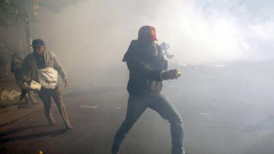 Protesta en Argentina (foto de archivo).