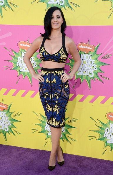 Katy Perry y su personalidad alegre se reflejan en los sujetadores que u...