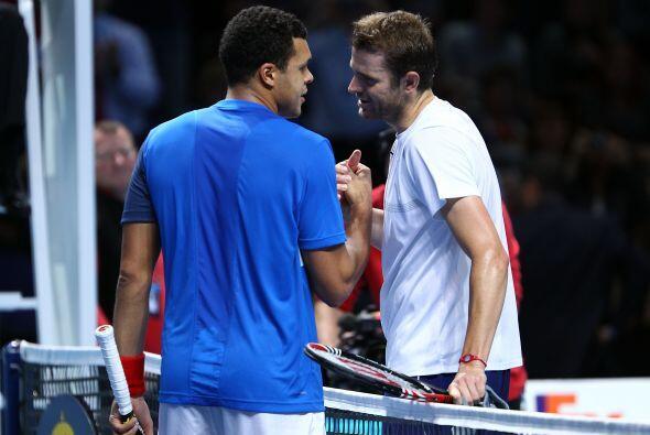 Por su parte, el francés Jo-Wilfried Tsonga, sexto tenista en el ránking...