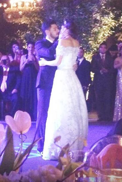 La conductora y actriz se casó con el futbolista Rafael Márquez Lugo.