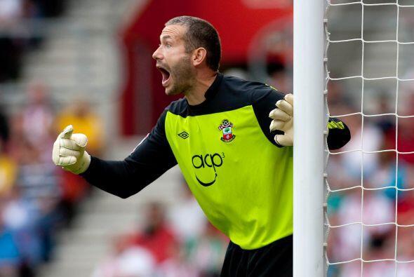 Kelvin Davis es el portero del Southampton de Inglaterra. En sus tiempos...