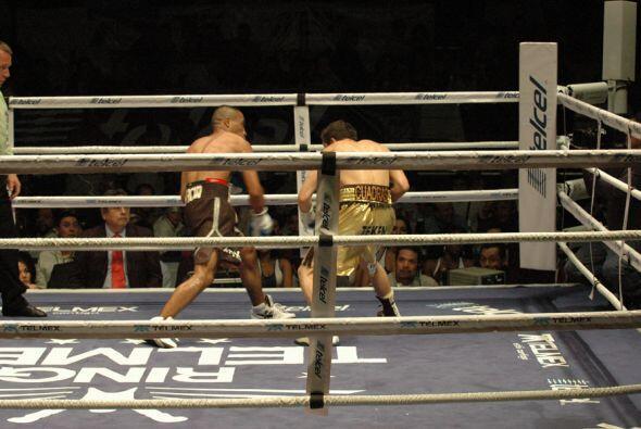 Cuadras y García disputaron el cinturón continental de las Americas del...