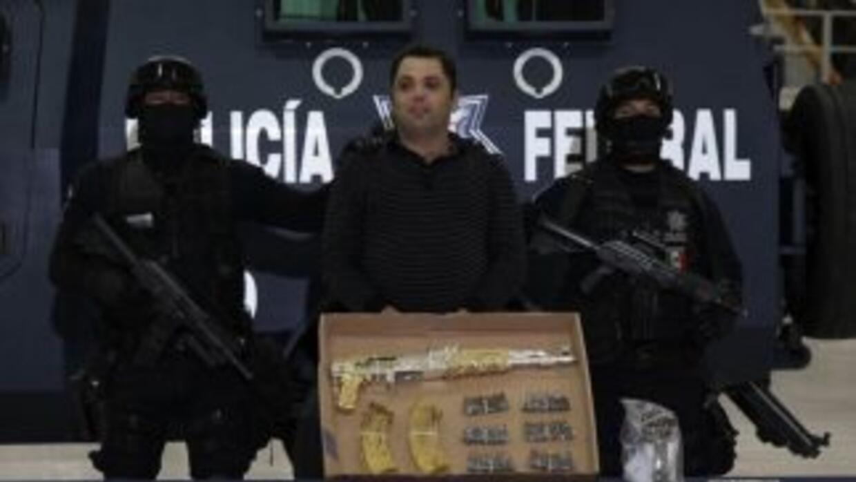 La Policía Federal capturó a Ramiro Pozos González, alias 'El Molca', pr...
