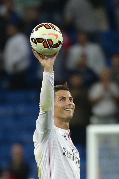 En la presente campaña 2014-2015, Cristiano Ronaldo ya tiene 12 g...