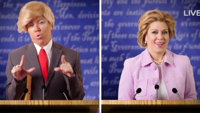 ¿Qué pasaría si Trump fuera cubano y Hillary boricua?  Screen Shot 2016-...