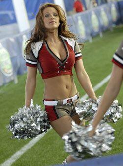 La manera de modelar es vital para ser una buena animadora en la NFL.