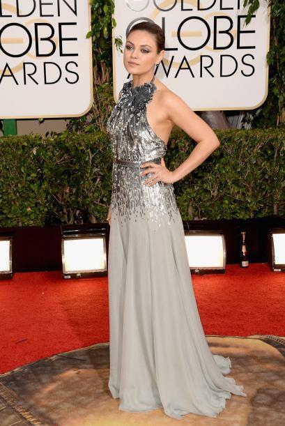 Pese a que el vestido del diseñador Emilio Pucci, Marina B no le favorec...