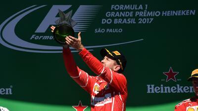 Sebastian Vettel volvió a ganar luego de siete carreras de sequía en la Fórmula 1
