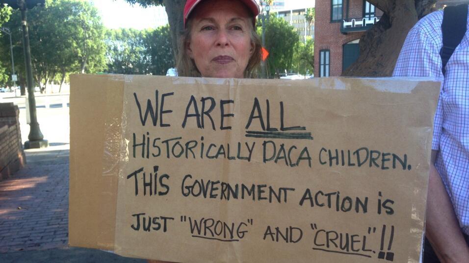 Marcha fin de DACA