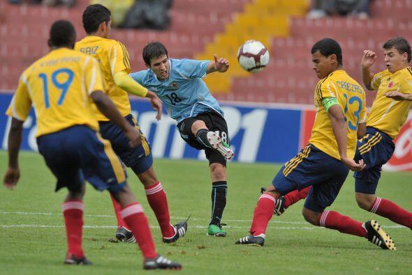 En la próxima ronda  Uruguay se enfrentará a Ecuador y Colombia jugará c...