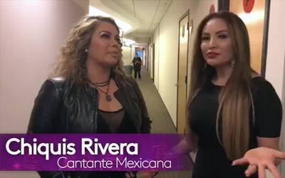 """Chiquis Rivera: """"Por tener a mi madre aquí sigo siendo su asistente"""""""