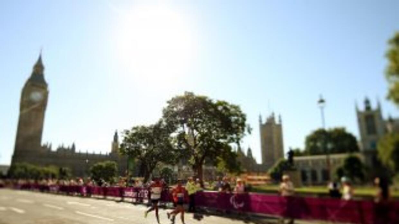 El Maratón de Londres sigue en pie pese a los atentados de Boston.