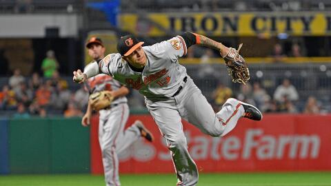 Manny Machado y los Orioles de Baltimore llegaron a un acuerdo de un a&n...