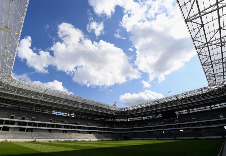 El Kaliningrado Stadium (Kaliningrado) esá muy cerca de finalizar sus ob...