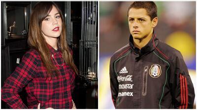 Camila Sodi y Javier 'Chicharito' Hernández