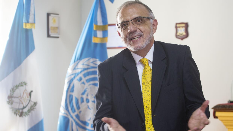 Iván Velásquez, jefe de la Comisión Internacional Contra la Impunidad en...