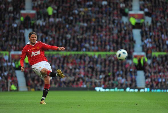 Junto a él estuvo David Beckham, un emblemático de este club y quien sur...
