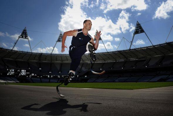 Oscar Pistorius es uno de los atletas más reconocibles del mundo...