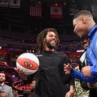 J. Cole debuts NBA Playoff commercial