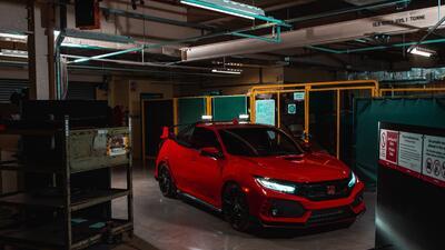 Honda convierte un Civic Type R en pickup