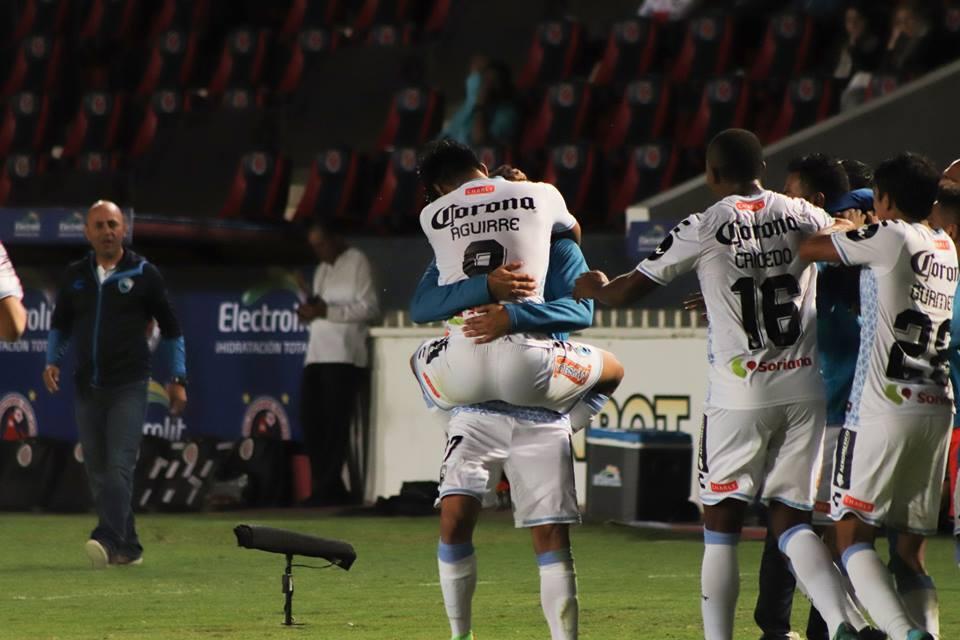 Delantero: Eduardo Aguirre (Tampico Madero) - un gol y dos remates a gol.