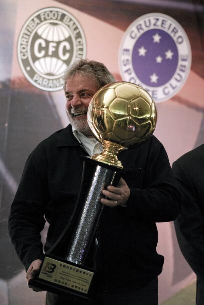 El jefe de Estado de Brasil, Luiz Inácio Lula da Silva, fue nombrado pre...