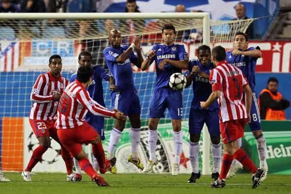 El Atlético de Madrid mejoró su imagen contra el Chelsea.