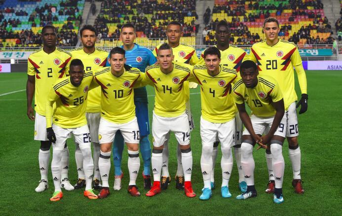 13. Colombia (Conmebol) - 1,078 puntos