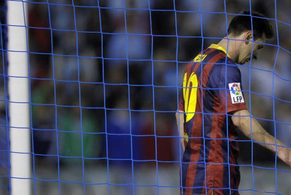 Pero ni eso cambió las cosas, el 3-0 estaba decretado y Barcelona...