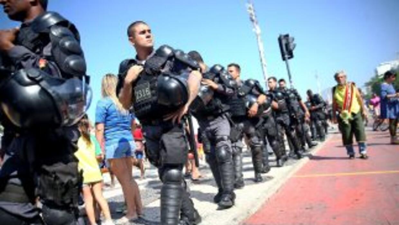 La final del Mundial exige una movilización policial mayor para prevenir...