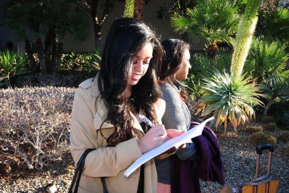 Las chicas descargaron el formulario aquí en NuestraBellezaLatina.com