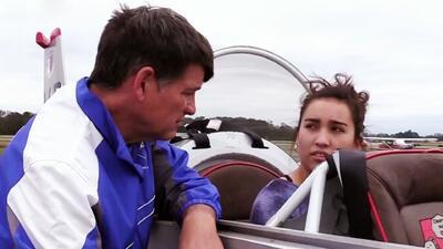 Xiomara Soler se enfrentó al reto de preparar un tutorial sobre aviación para futuros pilotos como ella