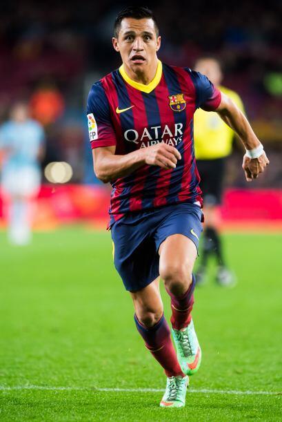 Alexis (sin calificación): Salió por Bartra para jugar los últimos cinco...