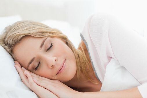Está comprobado que las personas que duermen bien tienden menos a perder...