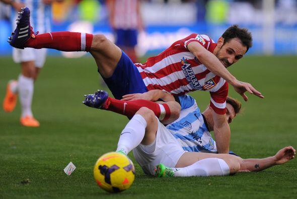 El Málaga planteó una gran resistencia a los hombres del a...
