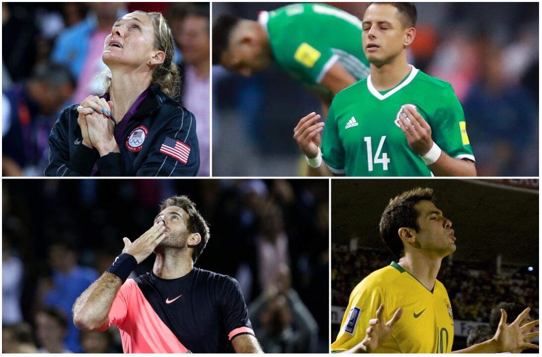 Mi fe en Dios: los deportistas católicos y cristianos más creyentes unti...