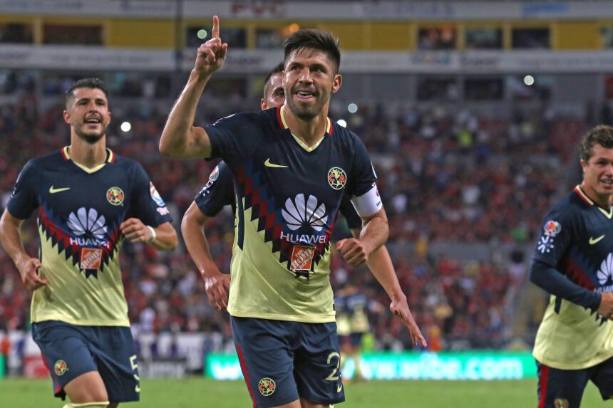 Oribe Peralta le dio el triunfo a la Águilas.