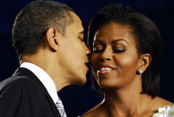 Michelle Obama, la primera dama estadounidense, terminó en el cuarto lug...