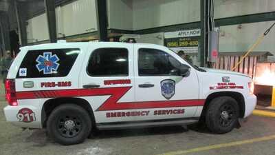 Interceptan a una ambulancia falsa que transportaba a indocumentados cerca de la frontera
