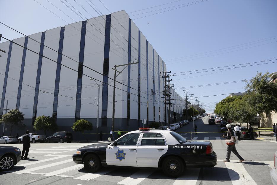 Tiroteo en un centro de UPS en San Francisco, California.