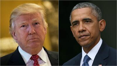 Donald Trump acusa a Obama de grabar sus conversaciones telefónicas clan...