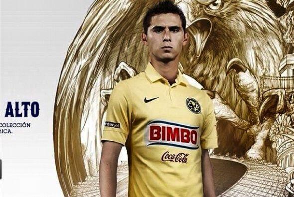 Paul Aguilar colocó en su perfil esta imagen con la nueva playera del Am...
