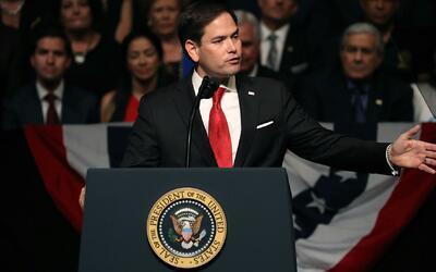 Marco Rubio: ''EEUU está dispuesto a estrechar su mano y ayudar al puebl...