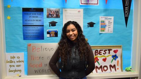 Kimberly Wenceslao fue aceptada en ocho universidades, entre estas cuat...