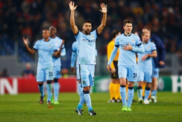 El Manchester City consiguió su boleto a los Octavos de Final de la Liga...